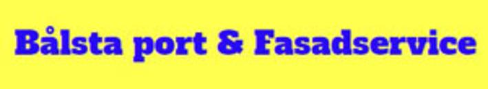 Bålsta Port och Fasadservice AB logo