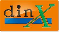 Din-X logo
