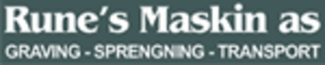 Rune`s Maskin AS logo