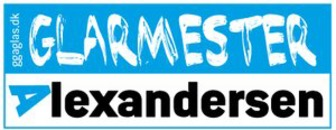 Glarmester Alexandersen logo