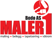 Maler 1 Bodø AS logo