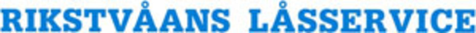 Rikstvåans Låsservice logo