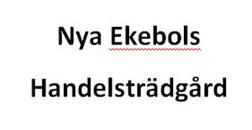 Nya Ekebols Handelsträdgård logo