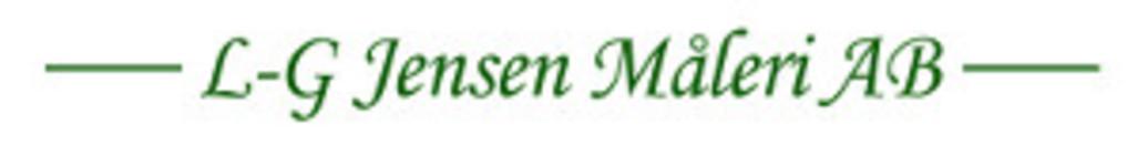 LG Jensen Måleri AB logo