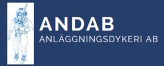 ANDAB Anläggningsdykeri AB logo