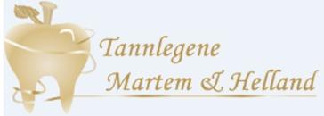 Tannlegene Martem & Helland logo