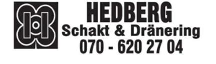 Hedberg Schakt & Dränering AB logo