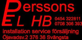 Perssons Elektriska HB logo