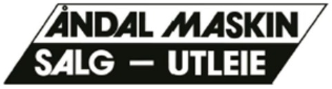 Åndal Maskin AS Salg utleie logo