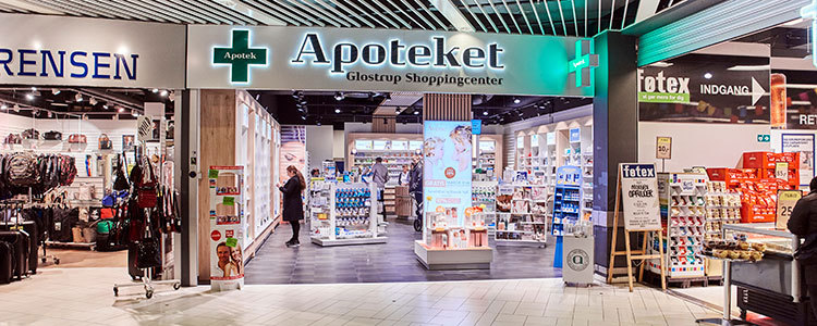 Apoteket Glostrup Shoppingcenter, Glostrup   firma   krak.dk