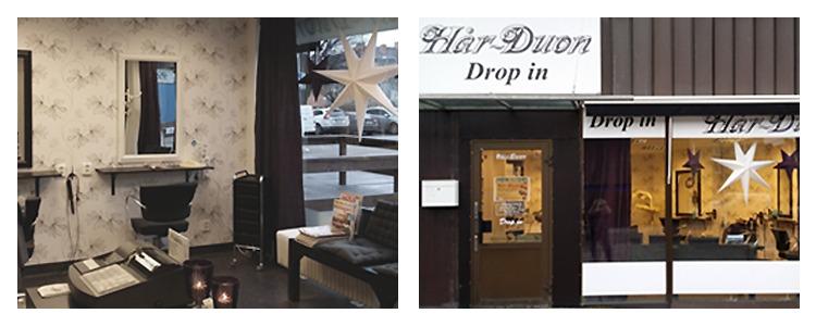 drop in frisör gränby centrum