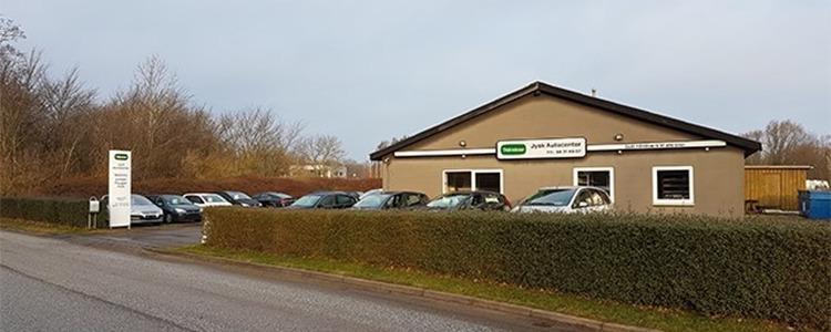 Jysk Autocenter Aalborg Gistrup Firma Krakdk