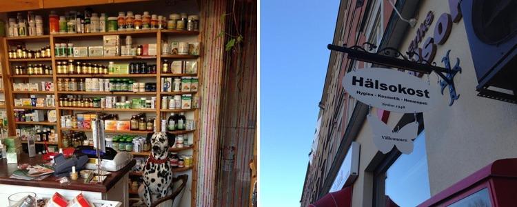 hälsokostaffärer i stockholm