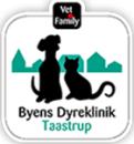 Byens Dyreklinik Taastrup logo