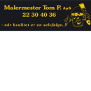 Malermester Tom P. ApS logo