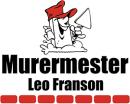 Murermester Leo Franson logo