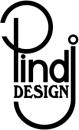 Pind J. Design Guldsmedie logo