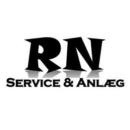 Rn Service & Anlæg logo