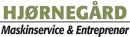 Hjørnegård Maskinservice & Entreprenørservice logo