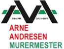 Arne Andresen Murermester logo