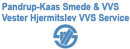 Pandrup - Kaas Smede & VVS A/S / Hjermitslev VVS-Service logo