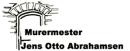 Murermester Jens Otto Abrahamsen logo