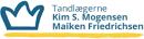 Tandlægerne Kim S. Mogensen & Maiken Manley logo