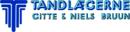 Tandlægerne Gitte & Niels Bruun logo