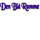Den Blå Glas- og Rammebutik logo