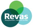 Revas Genbrugsstation Rødkærsbro logo