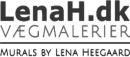 LenaH.dk Vægmalerier logo
