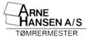 Tømrermester Arne Hansen A/S logo