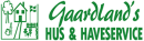 Gaardland's Hus & Have Service logo