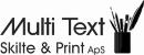 Multi Text Skilte & Print ApS logo