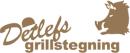 Detlefs Grillstegning logo