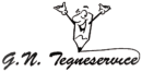 GN Tegneservice logo