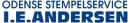 I. E. Andersen Odense Stempelfabrik og Gravørfirma ApS logo