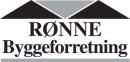 Rønne Byggeforretning logo