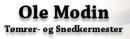 Tømrermester Ole Modin logo