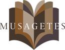 Forlaget Musagetes logo