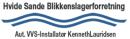Hvide Sande Blikkenslagerforretning logo