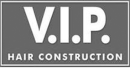 V. I. P. Hair Construction logo