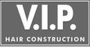 V. I. P. Hair Construction logo