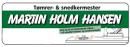 Tømrer- & snedkermester Martin Holm Hansen logo