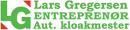 Entreprenør og aut. kloakmester Lars Gregersen logo