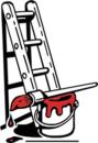 Malerfirmaet Mikael Larsen logo