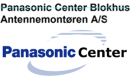 Panasonic Center Blokhus/Antennemontøren logo