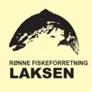 Rønne Fiskeforretning Laksen logo
