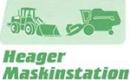Heager Maskinstation logo
