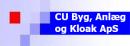 CU Byg, Anlæg og Kloak ApS logo